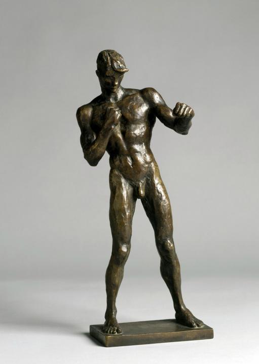 Renée Sintenis - Boxer Erich Brandl (1925, Foto: Rolf Zimmermann)