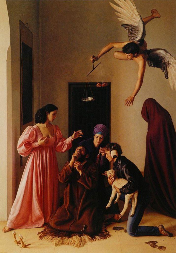 Claudio Bravo: Die Versuchung des heiligen Antonius (Santiago de Chile)